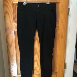 Old Navy rockstar black jeans size 14 long